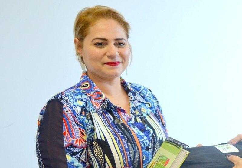 Luciana Rufino, professora do Ifac no campus Xapuri